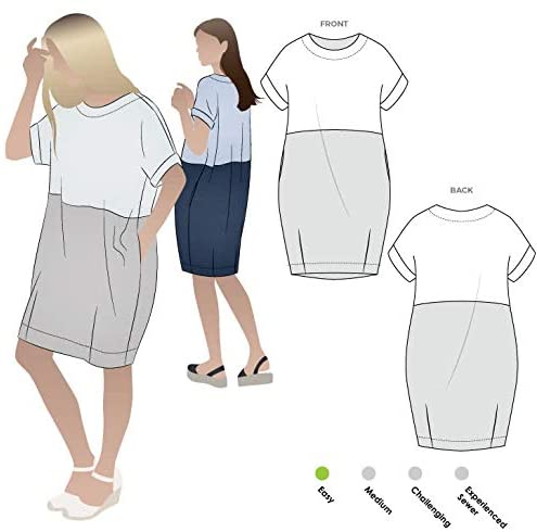 Style Arc Sewing Pattern - EME Dress (Sizes 04-16) - Click for Other Sizes Available