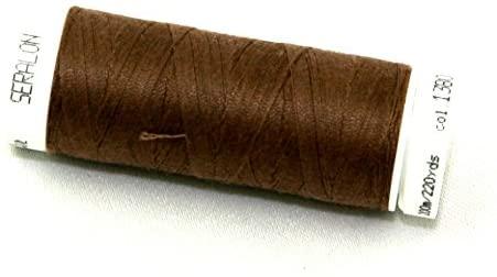 Mettler Seralon Polyester General Sewing Thread 200m 200m 1380 Espresso - each