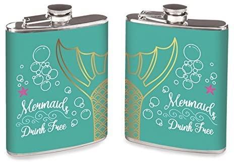 Wink Flask Set of 2, Mermaids