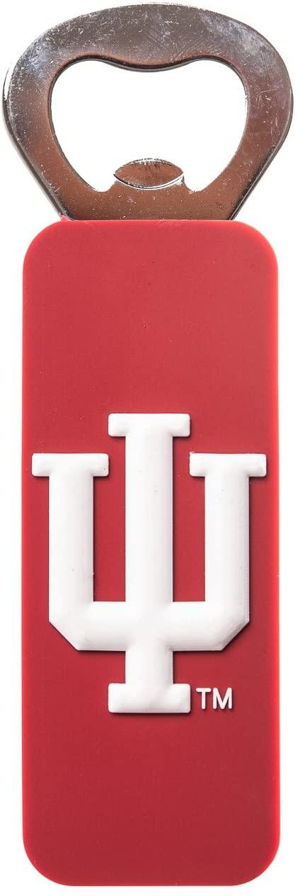 Indiana Hoosiers HOOSIERS NCAA PVC Magnetic Bottle Opener