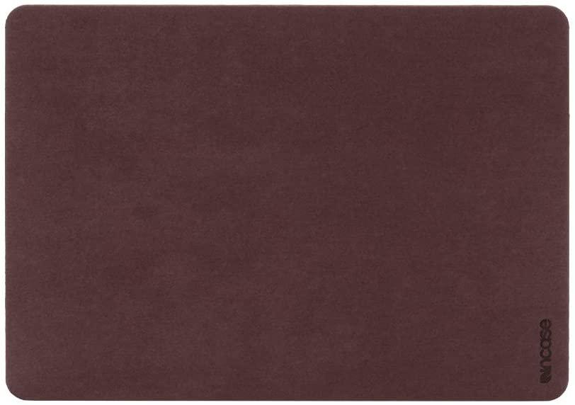Incase Textured Hardshell in NanoSuede for 13-inch MacBook Air with Retina Display - Merlot