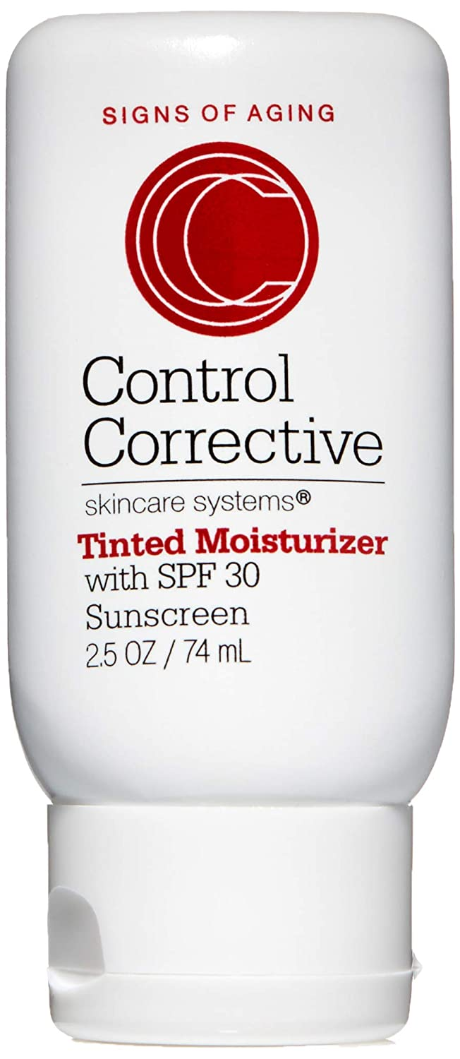 Control Corrective Tinted Moisturizer with SPF 30   Evens Out Skin Tone, Moisturizes & Protects   2.5 oz
