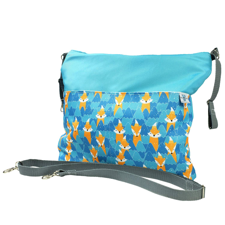 Bluekitty Pushchair Multifunctional Waterproof Organiser Bag, Foxes,UNI