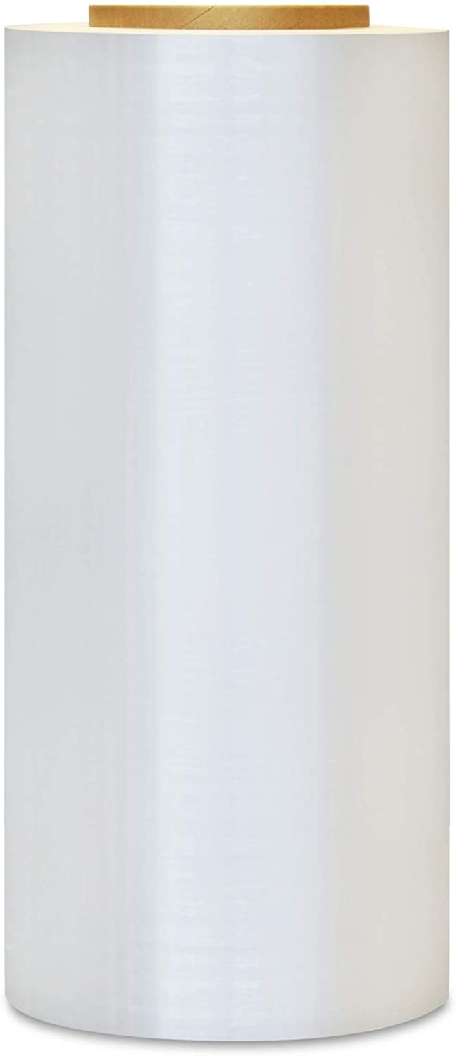 Stretch Film Wrap, Packing Shrink Wrap Roll, Clear, 17 Inch x 1476 Feet, 84 Gauge, 768 Pack