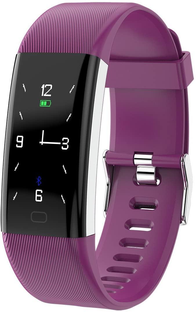 LS FitnessTracker, BluetoothSmartBracelet Heart Rate Blood Pressure Monitoring Various Motion Patterns FitnessTrackerWaterproof
