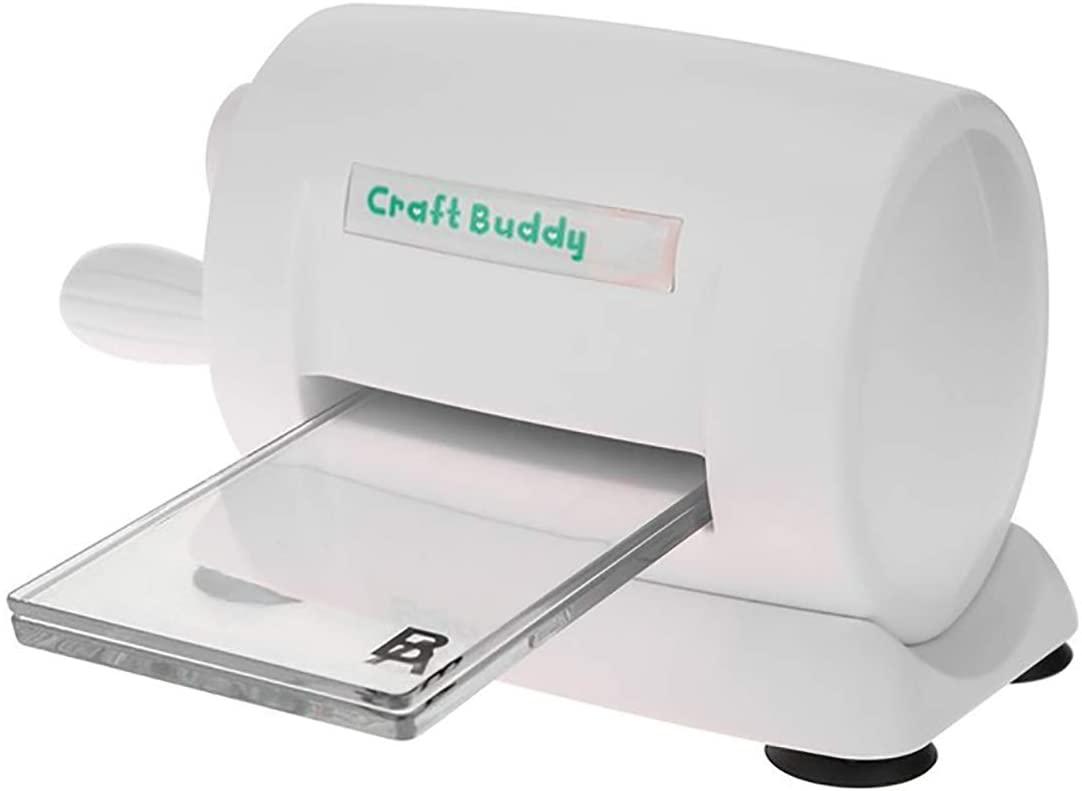 Vilihy DIY Dies Cutting Embossing Machine Paper Card Craft Scrapbooking Dies Machine Cutter Photo Album Decorative Craft(White)