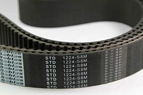 TAJIMA Embroidery HIGH-Speed Machine Parts TIMMING Belt STD 1224-S8M 40MM