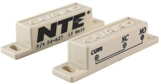 NTE ELECTRONICS 54-627 Switch, Reed, SPDT, 250mA, 125VAC