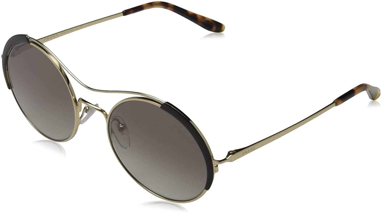 Prada Women's PR 55VS Round Aviators Sunglasses