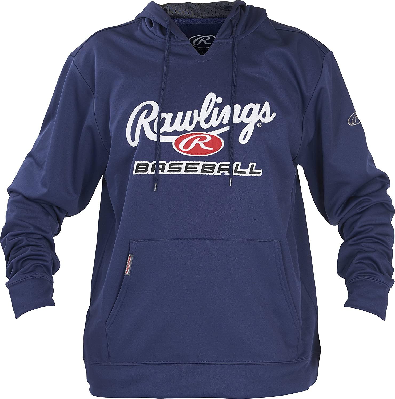 Rawlings mens Rawlings adult fleece hoodie