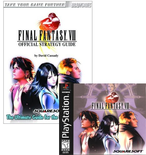 Final Fantasy VIII Game and Official Guide Combo