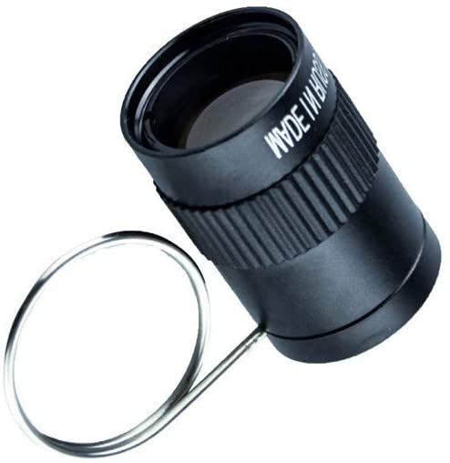 TGJ Binoculars Portable Telescope All Optical Lens Mini Magnifier Used for Scientific Bird Watching, Wild Adventure, Watching Matches 8X / 2.5X Optional