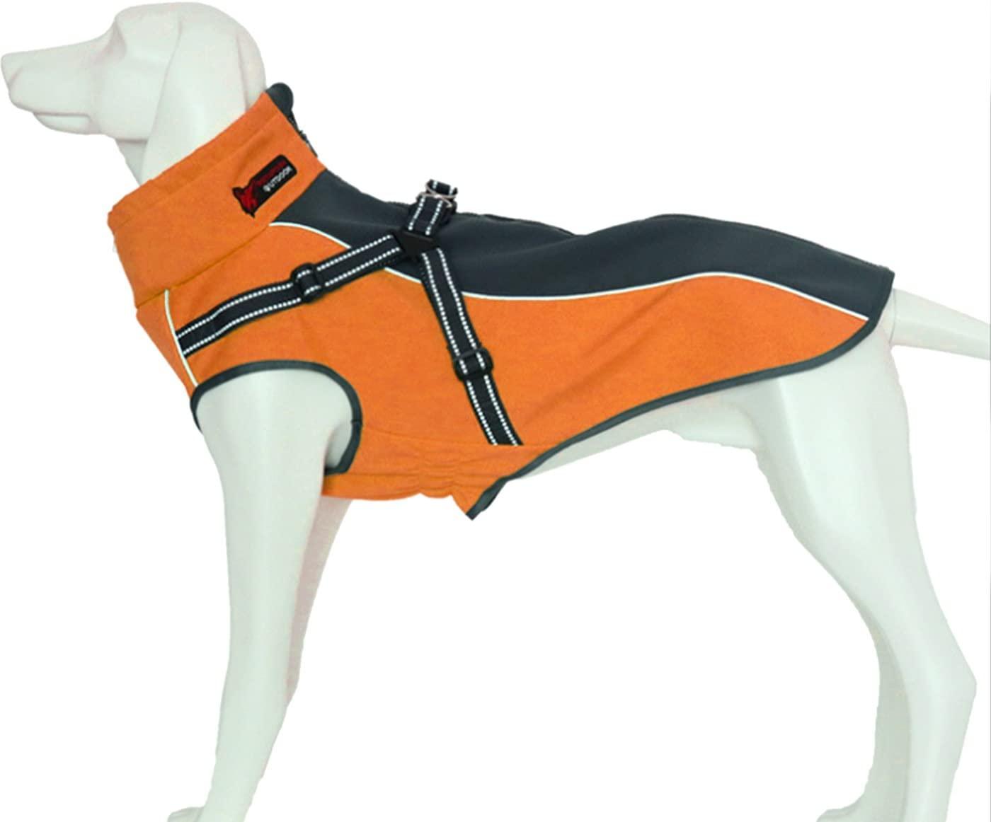 Alfie Pet - Brady Waterproof Coat with Built-in Harness
