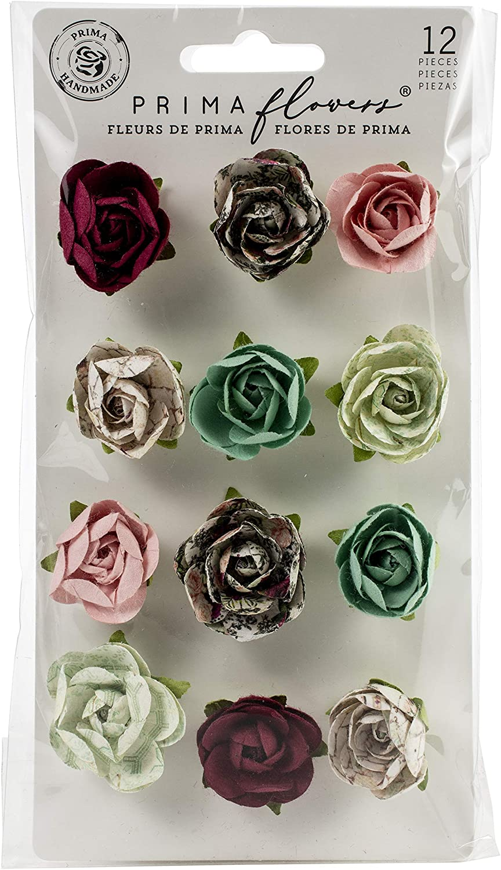 PRIMA MARKETING INC Flower, us:one size, Peridot/Pretty Mosaic