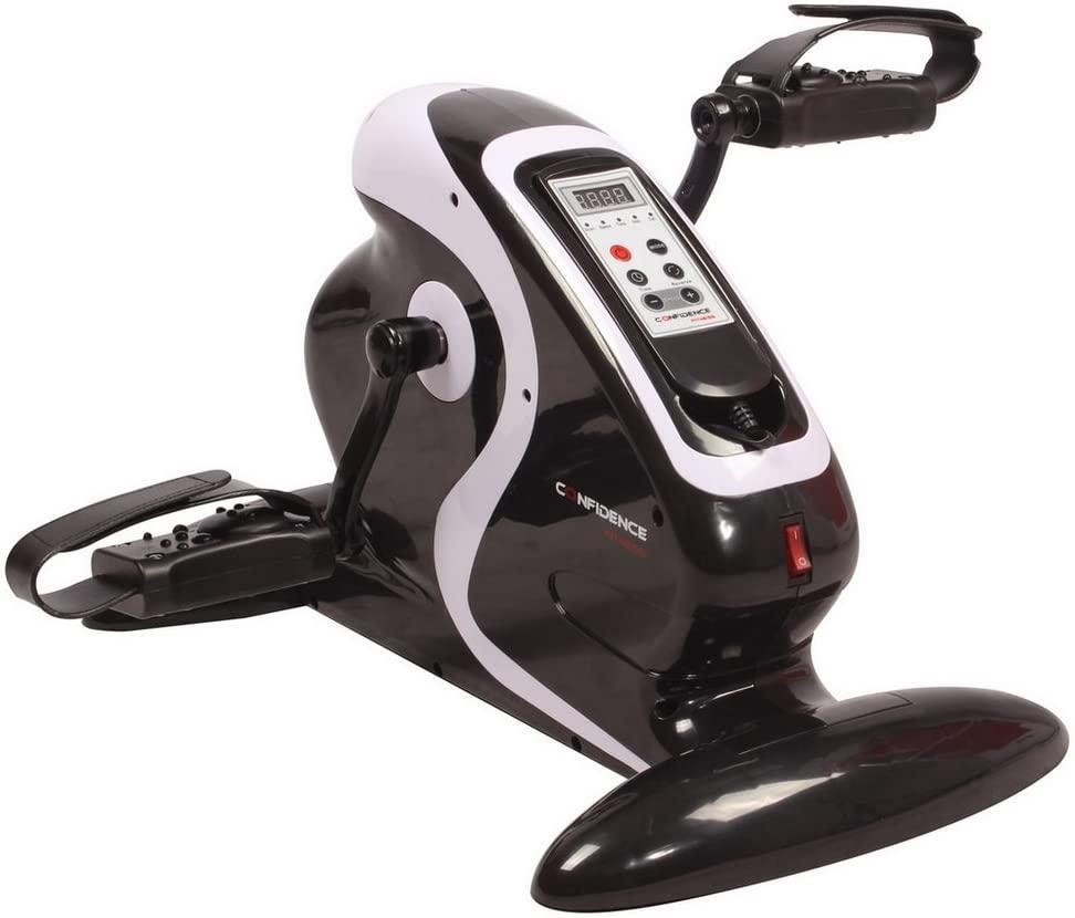 Confidence Fitness Motorized Electric Mini Exercise Bike/Pedal Exerciser