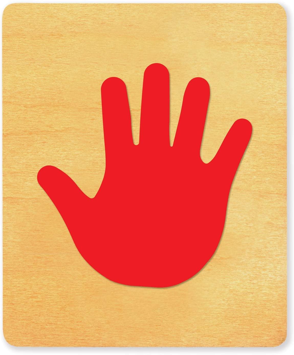 Ellison SureCut 21758-LG, Child Handprint Basic Beginnings, 5 7/8