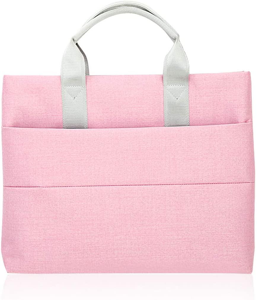iSuperb Laptop Bag Waterproof Portable Case Brief Case with Zipper Handbag Tote Travel Organizers for 13 Inch Retina MacBook Pro Tablet for Men Women