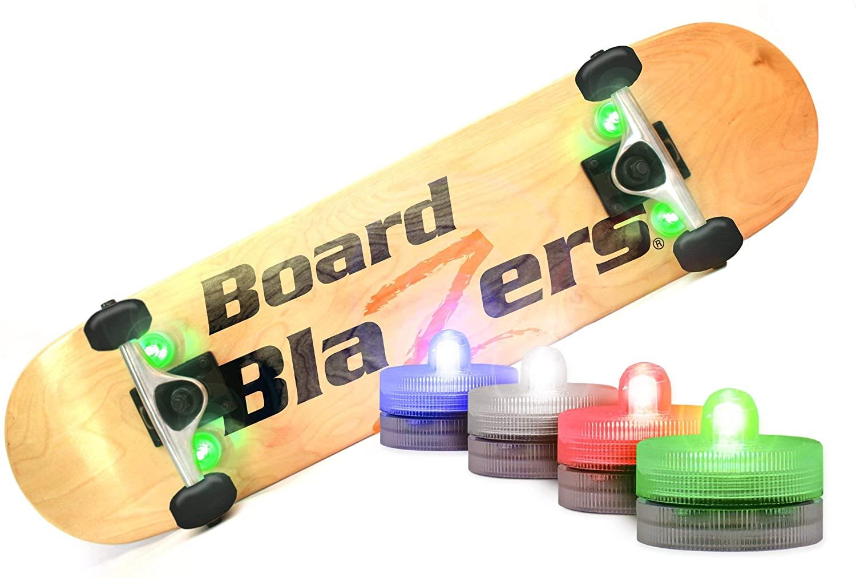 Board Blazers LED Underglow Lights for Skateboards, Longboards, Scooters - Original Skateboard Accessories - Great Gift for Skateboarders