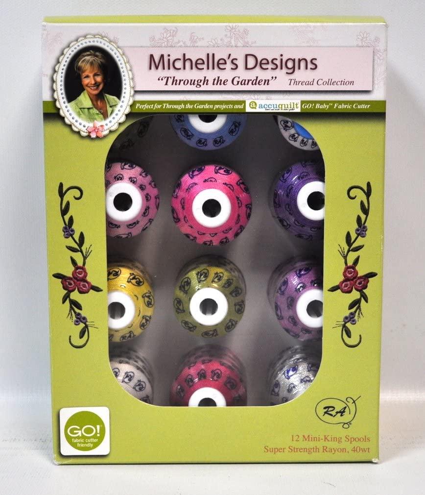 Michelle's Designs Through The Garden Thread Collection
