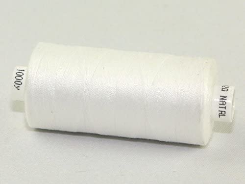 Coats Moon Polyester Sewing Thread 1000m Natural - each