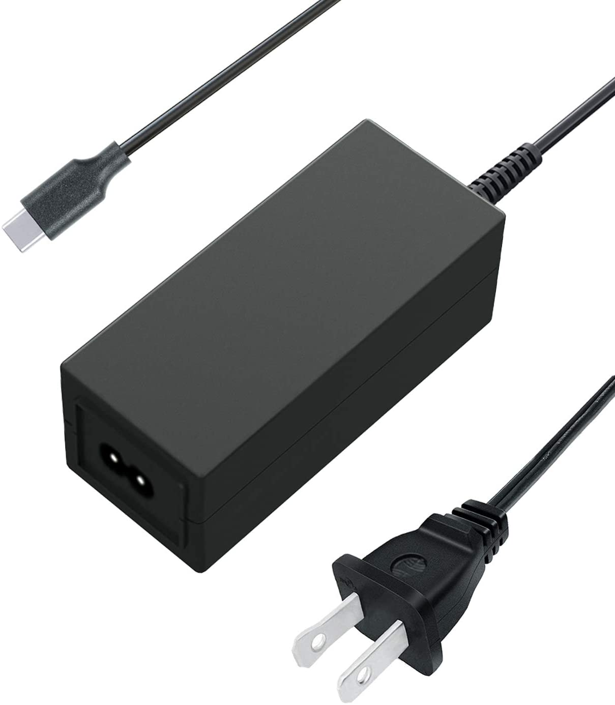 Saireed UL Type C AC Charger for Acer Chromebook 11 C732 C732T C732L C732LT C732-C6WU C771 C771-C4TM C771T C771T-56G3,Spin 11 R751T R751TN R751TN-C5P3 Laptop Power USB C Adapter 12Ft Cord