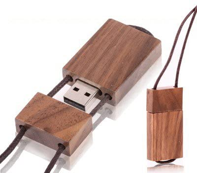 Hengtaiming 8 GB Wood Substantial Series USB Flashbulb Disk (Color : Color2)