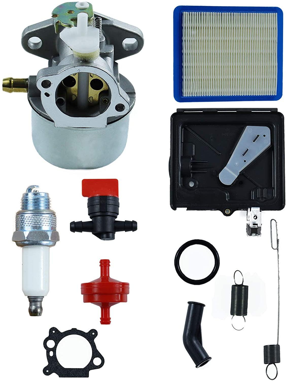 POSEAGLE 799869 499059 Carburetor with 795259 Air Cleaner Primer Base 790849 699056 Spring Tune Up Kits Replaces 792253 497586 Pressure Washer Carburetor