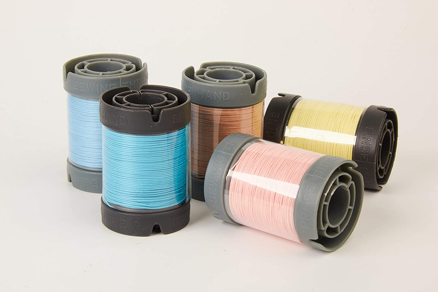 Since leather sewing flax thread for leathercraft DIY 48 colors Available (M60, Serenity Blue)