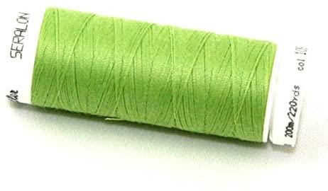 Mettler Seralon Polyester General Sewing Thread 200m 200m 1098 Kiwi - each