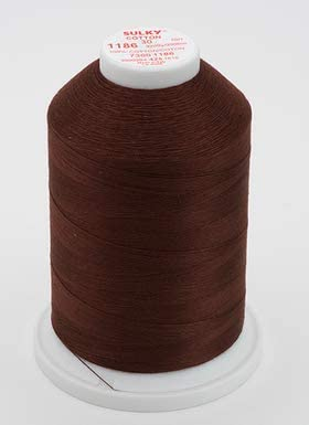 Sulky 730-1186 30 wt Cotton 3200 yds, Sable Brown