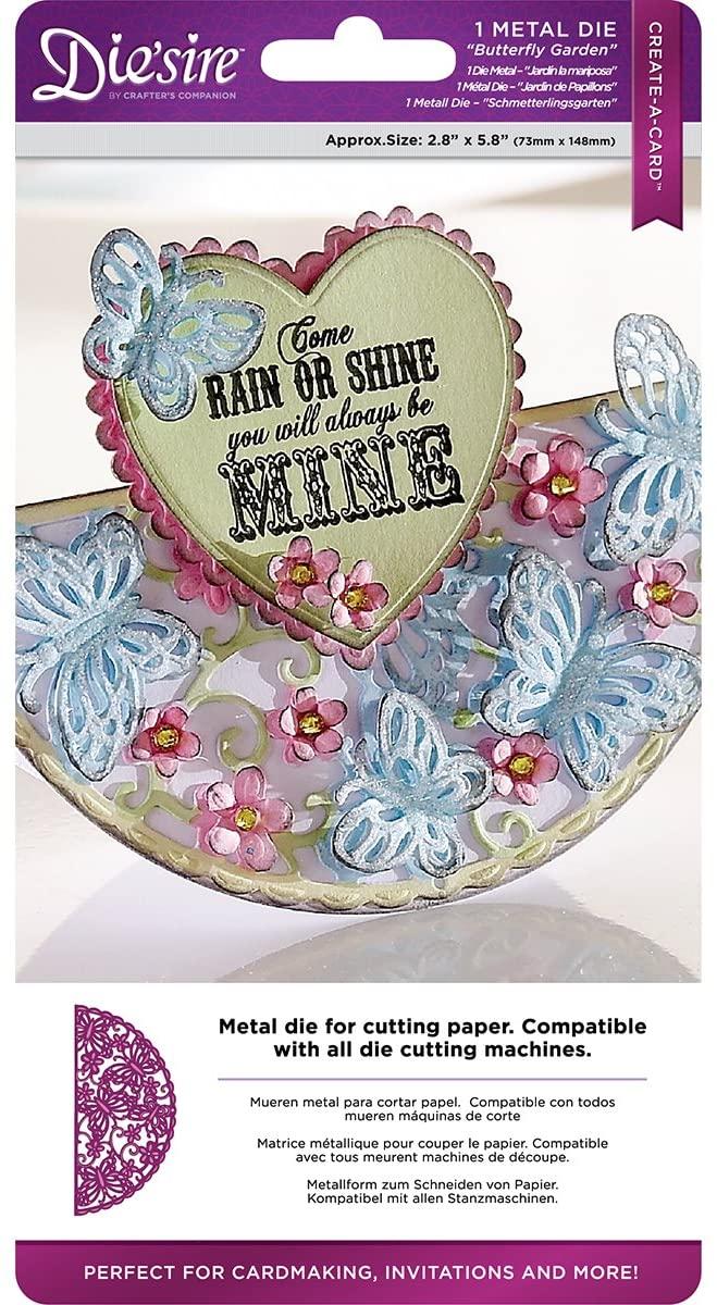 Create-a-Card Butterfly Garden Die'Sire Dies, Multicolor