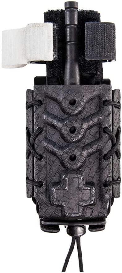 Comp-Tac HSGI Kydex Taco Black/Basket Weave Tourniquet U-Mount (11TQK0BW)