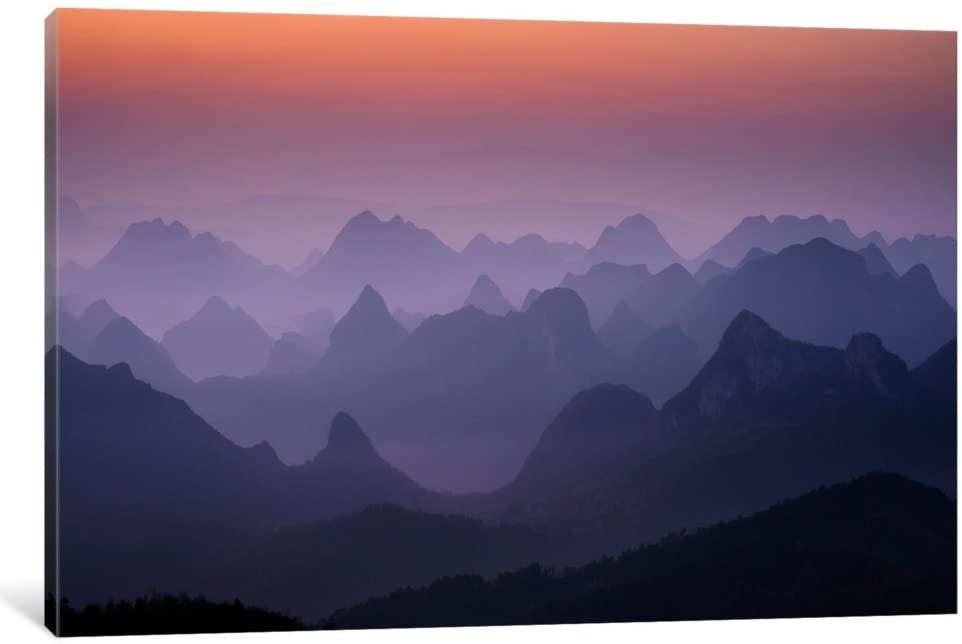 iCanvasART 11537-1PC6-26x18 iCanvas Enchanted China by Dan Ballard, 26