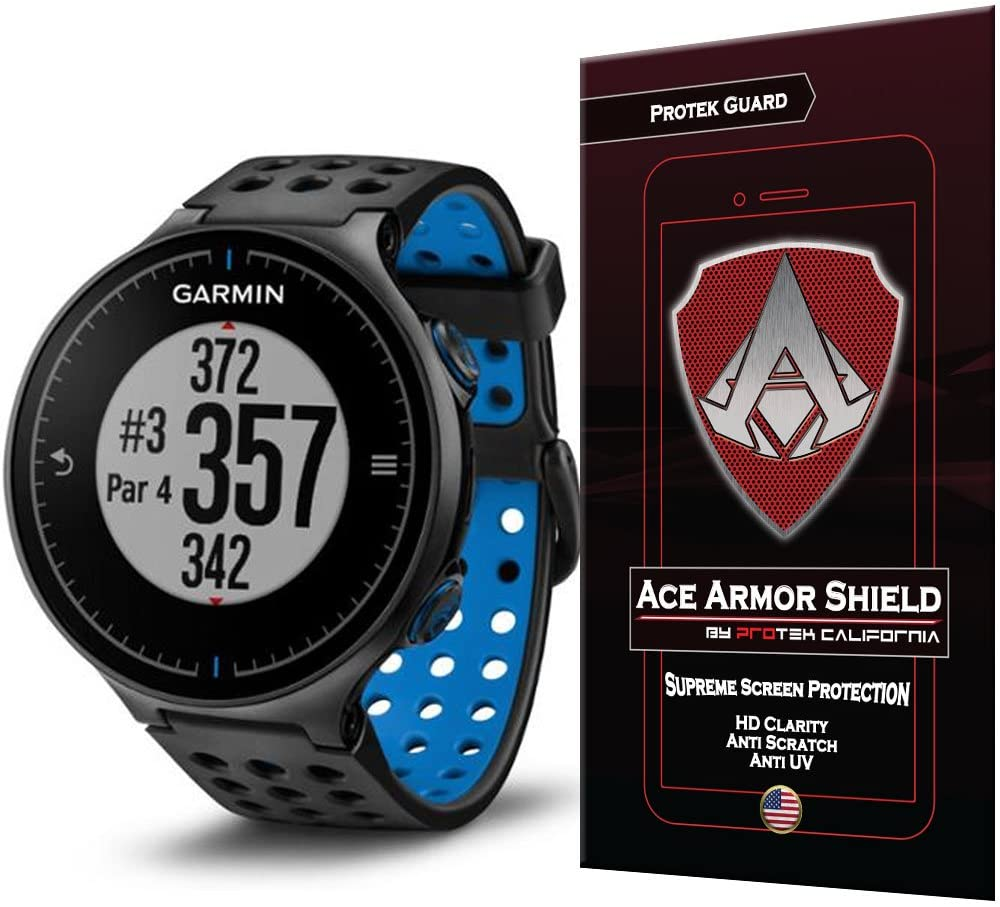 Ace Armor Shield Shatter Resistant Screen Protector for The Garmin Approach S5 with Free Lifetime Replacement Warranty
