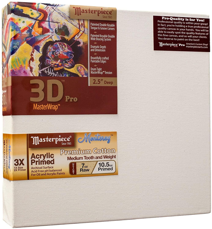 Masterpiece Artist Canvas DM-1119 3D Pro 2-1/2