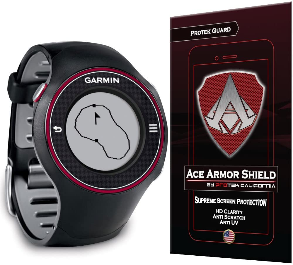 Ace Armor Shield Shatter Resistant Screen Protector for the Garmin Approach S3 with free lifetime Replacement warranty