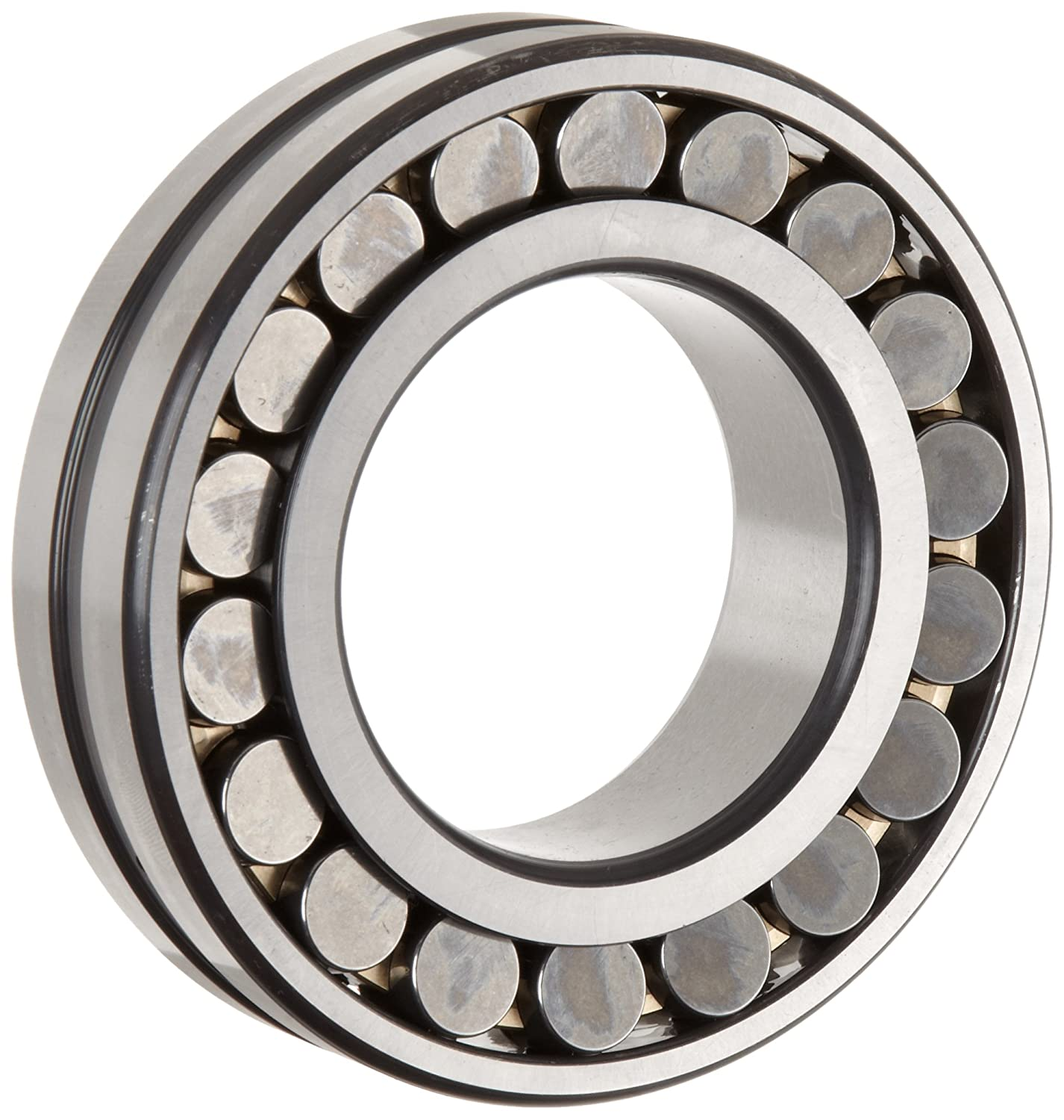 FAG 22236E1AK-M-C3 Spherical Roller Bearing, Tapered Bore, Brass Cage, C3 Clearance, Metric, 180mm ID, 320mm OD, 86mm Width, 2400rpm Maximum Rotational Speed, 1660kN Static Load Capacity, 1370kN Dynamic Load Capacity