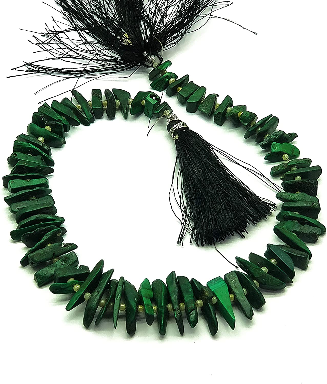 1.Strand Natural Malchaite Gemstone Fine Faceted Fancy Semiprecious Beads 4-6 mm 12.5 inch Strand Code-FL166