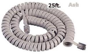 Cablesys 2500AS Gcha444025-far / 25 feet Ash Handset Cord