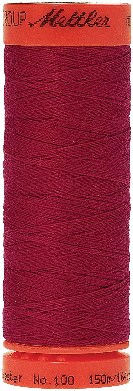 Mettler Metrosene 100% Core Spun Polyester Thread, 165 yd, Currant