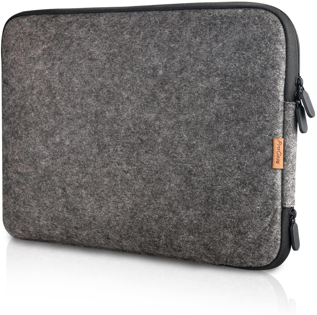 ProCase 13-13.5 Inch Felt Laptop Sleeve Case Bag for MacBook Pro Air, Surface Book 3 13.5
