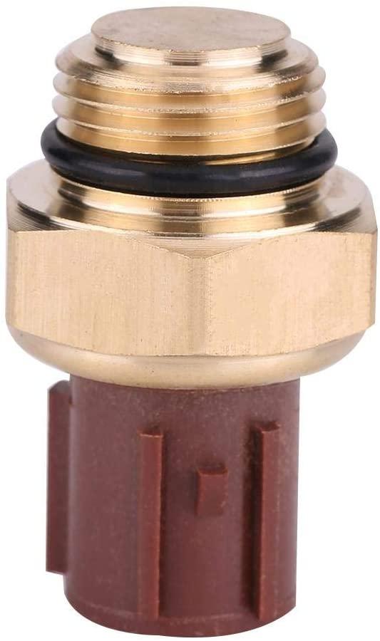KIMISS Car Temperature Sensor, Coolant Temperature Sensor Switch 37760-P00-003