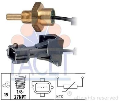 Facet OE Quality Replacement Coolant Temperature Sensor 73253