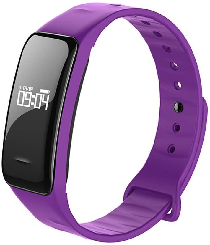 Fitness Tracker Heart Rate Monitor,Waterproof Activity Tracker with Sleep Monitoring & Blood Pressure & Blood Oxygen Bluetooth Pedometer Calorie Distance Counter Call Messages Reminder-F