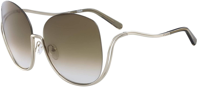 Sunglasses CHLOE CE 125 S 760 Gold/Transparent Khaki