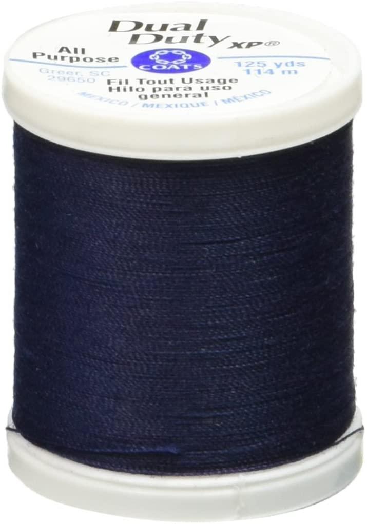 Coats: Thread & Zippers Dual Duty XP General Purpose Thread, 125-Yard, Freedom Blue