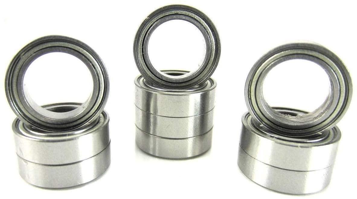 10x15x4mm Precision Ball Bearings ABEC 3 Metal Shields (10) 6700-ZZ