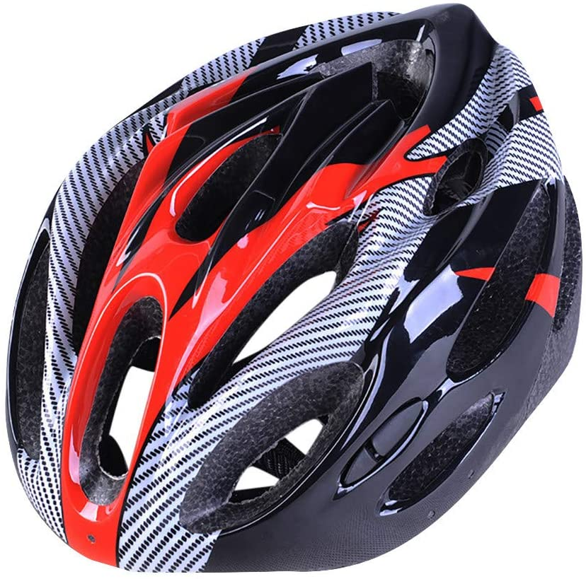 Adult Bike Helmet, Integrated Ultra-Light MTB Road Bicycle Bike Helmet Cycling Sports Safety Helmet,Specialized for Mens Womens Safety Protection, 7-15 Days Delivered