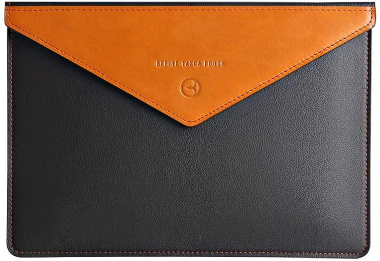 BEFINE - iPad Pro 11 2018 - Apple iPad Handmade Premium Leather Sleeve case,Slim,Modern and Durable iPad Case (Black)