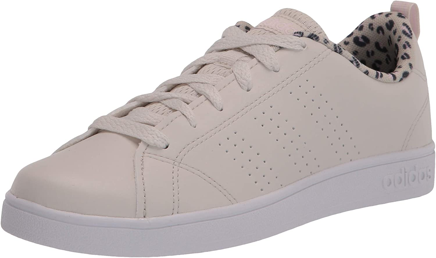 adidas VS Advantage Clean Shoes Kids', White, Size 13.5K